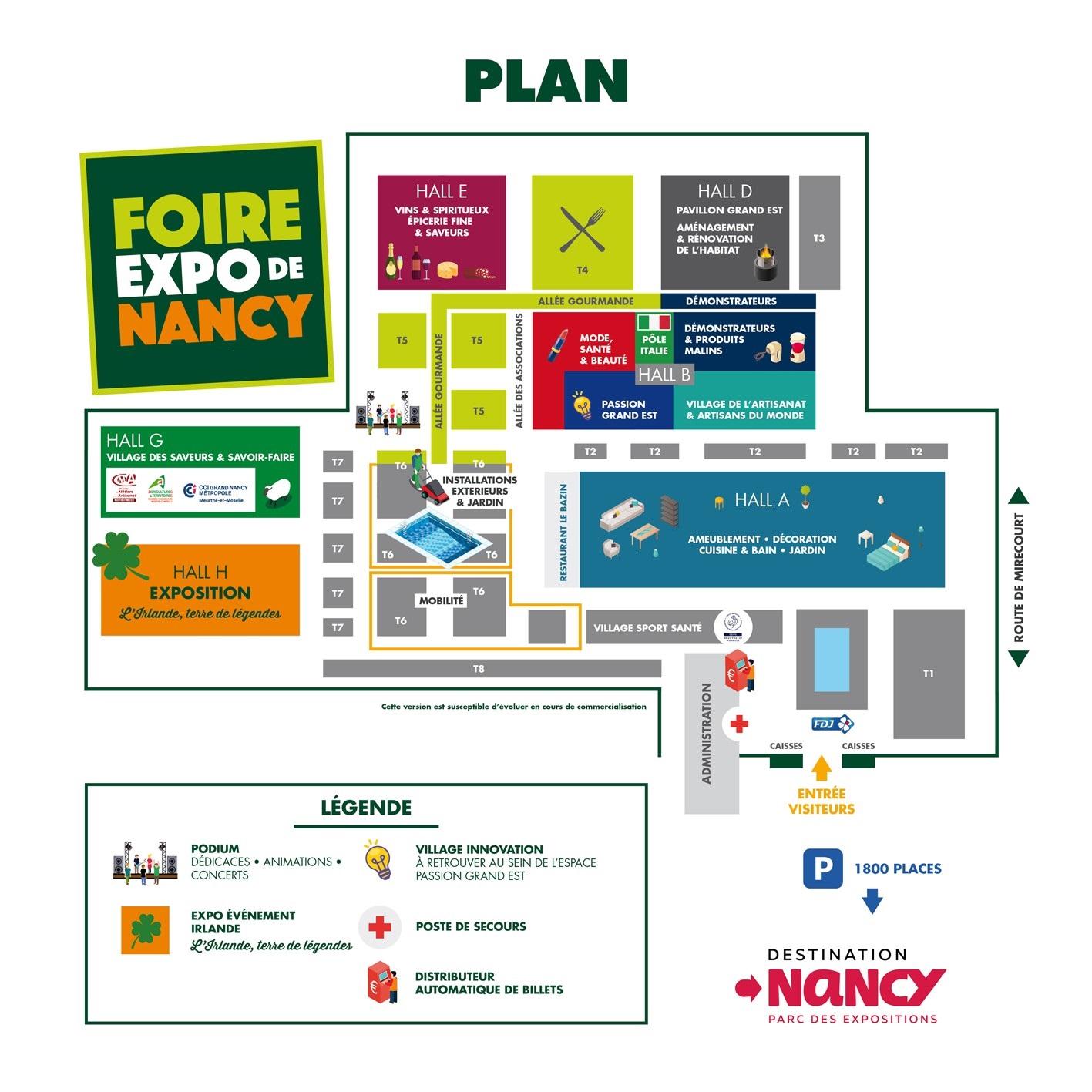Plan Foire Expo